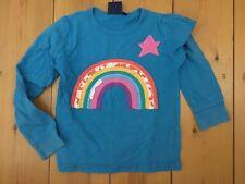 Mini Boden Rainbow long sleeved T shirt age 9-10