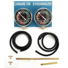 TWO motorcycle carburetor CARB SYNCHRONIZER VACCUM GAUGE TOOL sync gauge Yamaha