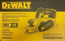 DEWALT DCP580B 20V MAX 20V MAX BL Li-Ion 3-1/4 in. Planer (Tool Only)