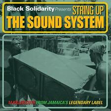 Music CD Reggae Black Solidarity String Up The Sound System Various Artists