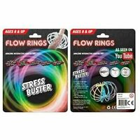 Kids Toys Spring Bracelet Flow Rings Stainless Steel Magic Ring Game Xmas Gift