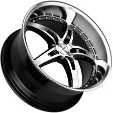 "19"" MRR GT5 Wheels For Chevy Corvette C5 19x8.5 / 19x9.5 Set of 4 Deep Dish Rims"