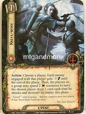 Lord of the Rings LCG - #114 Knife-Work - A Storm on Cobas Haven