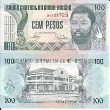 GUINEA BISSAU BILLETE 100 PESOS 1990 P 11