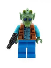 LEGO Star Wars Greedo Minifigure with Plain Legs and Blaster NEW