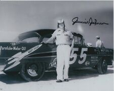 JUNIOR JOHNSON Signed NASCAR Photo w/ Hologram COA