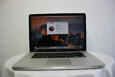 "Apple MacBook Pro 15.4"" A1286  i5 2.4GHZ 4GB 320GB NEW BATTERY WARRANTY GRADE B"