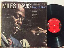 Miles Davis Kind Of Blue COLUMBIA MONO 6-EYE DG