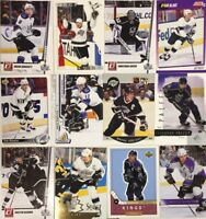 LOS ANGELES KINGS 100 Different Card Team Lot GRETZKY KOPITAR QUICK  + 1990-2015