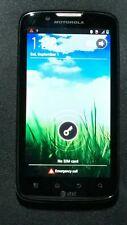 Motorola ATRIX 2 MB865 Black (AT&T) for Parts or Repair