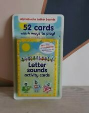 Alphablocks Cbeebies phonics letter and sounds acitivity cards Home schooling