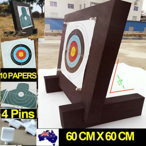 60 x 60 CM 3D Archery Target High Density Self Healing Foam Target Bows Practice