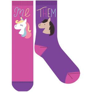 "NEW Novelty Fun Socks - The Latest Craze in Socks! ""Odd Unicorn"""