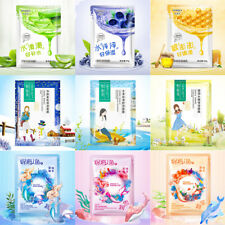 Face Mask Sheet Pack Cosmetics Moisture Acne Whitening Essence Facial Skin Care