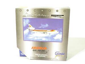 Gemini Jets GJIBE421 Scale 1:400 IBERIA DC-10-30 McDonnell Douglas