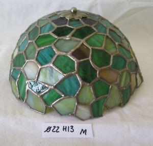 PARALUME PER LAMPADA ABAT-JOUR IN VETRO COLORATO COLORED GLASS LAMPSHADE M1