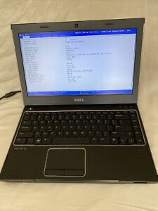 Dell Vostro 3350 Laptop Boots to BIOS NO HDD/Battery/Charger for Parts