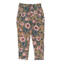 LAUREN RALPH LAUREN NEW Women's Floral Print Drawstring Casual Pants TEDO