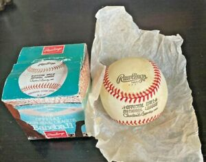 Vintage Rawlings Charles Feeney Official National League Baseball - With  Box