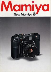 Mamiya Prospekt für Mamiya 6