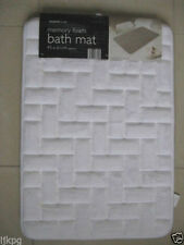 Rectangle Solid Medium Bath Mats