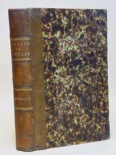 HISTOIRE PITTORESQUE DES VOYAGES EN AMÉRIQUE - L. -E. HATIN - 2 volumes - 1848