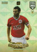 PANINI ADRENALYN XL FIFA 365 2018 RYAN GIGGS RARE NO 2