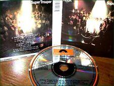 ABBA - SUPER TROUPER CD RARE ORIGINAL {1984} POLYDOR FRANCE PRESSING