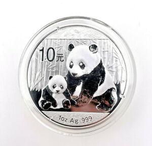 10 Yuan Chine Panda 2012 - 1 Once Argent 999 IN Étui