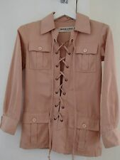 Iconic Vintage 1968 YVES SAINT LAURENT Safari Tunic as seen on Veruschka