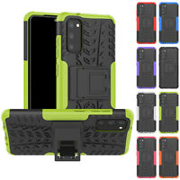 For Samsung Galaxy S20 Ultra S20 + S20 Hybrid TPU Case Armor Rugged Stand Cover