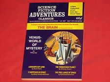 SCIENCE FICTION ADVENTURES CLASSICS MAY 1974 DIGEST UNREAD NOS