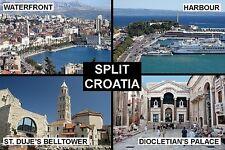SOUVENIR FRIDGE MAGNET of SPLIT CROATIA