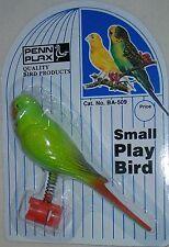"PENN PLAX BA-509 SMALL PLAY BIRD / 9"" PLASTIC LADDER / METAL OLYMPIC RING NEW"