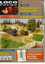 LOCO REVUE N°581 RESEAU : ALSACE DE BUCHMANN EN HO / VARIATIONS EN N MAJEUR