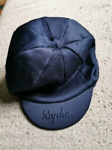 RAPHA Deep Winter Cycling Hat Cap - Navy with Pink Strip