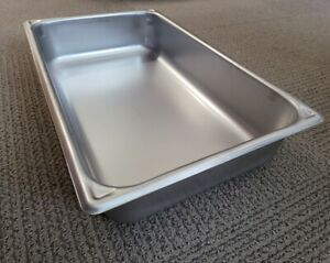 Vollrath 30040 Super Pan Full Size Steam Pan, Stainless 14 QT