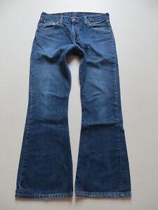 Levi's 516 Schlag Jeans Hose, W 32 /L 32, RAR ! dark Indigo KULT Schlaghose !