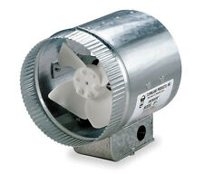 """Tjernlund 10"""" Round In-Line Air Duct Booster Fan 120 Volt # EF-10"""