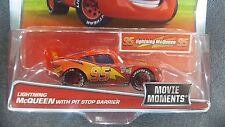 DISNEY PIXAR CARS MOVIE MOMENTS LIGHTNING MCQUEEN PIT STOP BARRIER 2016 SAVE 5%