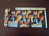 Mr. Sam Fireworks Cake Label ~ Original ~ Great Art Collectible By Jaguar