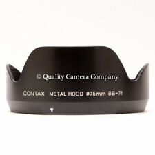 Contax Metal Lens Hood GB-71 Contax 645 Zeiss Distagon 45mm f/2.8 - EXCELLENT