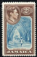 Jamaica 1938 blue/chocolate 2/- multi-script p14 mint SG131