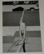 Nadia Comaneci Personally Signed Autograph 12X8 Photo Romania Gymnastics