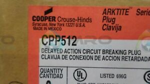 CROUSE-HINDS CPP512 *NEW IN BOX*