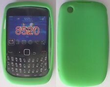 COVER CUSTODIA SILICONE PER BLACKBERRY CURVE 8520 COLORE VERDE MODA