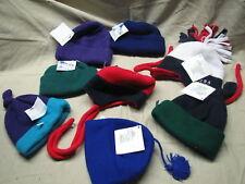 infant wholesale multi lot of 8 fleece hats turtle fur