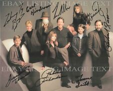 HOME IMPROVEMENT TOOL TIME FULL CAST SIGNED AUTOGRAPH 8x10 RP PHOTO TIM ALLEN