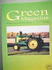 John Deere model R tractor - Snowmobile Green Magazine, crawler pedal tractors