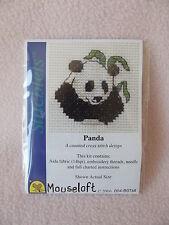 Mouseloft stitchlets CROSS STITCH KIT ~ PANDA ~ NUOVO